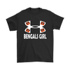 NFL – Cincinnati Bengals Girl Under Armour Football Shirts-T-shirt-Gildan Mens T-Shirt-Black-S-PopsSpot