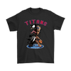 NFL – Tennessee Titans Venom Groot Guardian Of The Galaxy Football Shirts-T-shirt-Gildan Mens T-Shirt-Black-S-PopsSpot