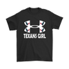 NFL – Houston Texans Girl Under Armour Football Shirt-T-shirt-Gildan Mens T-Shirt-Black-S-Itees Global