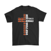NFL – All I Need Today Is A Little Bit Of Cincinnati Bengals And A Whole Lot Of Jesus Football Shirts-T-shirt-Gildan Mens T-Shirt-Black-S-PopsSpot