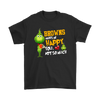 NFL – Cleveland Browns Makes Me Happy You Not So Much The Grinch Football Sweatshirt-T-shirt-Gildan Mens T-Shirt-Black-S-Itees Global