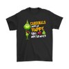 NFL – Arizona Cardinals Makes Me Happy You Not So Much The Grinch Football Sweatshirt-T-shirt-Gildan Mens T-Shirt-Black-S-PopsSpot