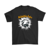 NFL – Awesome Philadelphia Eagles Football Shirts-T-shirt-Gildan Mens T-Shirt-Black-S-Itees Global