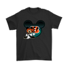 NFL – Cincinnati Bengals Mickey Mouse Football Shirts-T-shirt-Gildan Mens T-Shirt-Black-S-PopsSpot