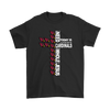 NFL – All I Need Today Is A Little Bit Of Arizona Cardinals And A Whole Lot Of Jesus Football Shirts-T-shirt-Gildan Mens T-Shirt-Black-S-Itees Global