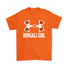 NFL – Cincinnati Bengals Girl Under Armour Football Shirts-T-shirt-Gildan Mens T-Shirt-Orange-S-PopsSpot