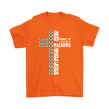 NFL – All I Need Today Is A Little Bit Of Green Bay Packers And A Whole Lot Of Jesus Football Shirt-T-shirt-Gildan Mens T-Shirt-Orange-S-Itees Global