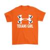 NFL – Houston Texans Girl Under Armour Football Shirt-T-shirt-Gildan Mens T-Shirt-Orange-S-Itees Global