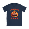 NFL – Halloween Pumpkin Los Angeles Rams Football NFL Shirts-T-shirt-Gildan Womens T-Shirt-Navy-S-Itees Global