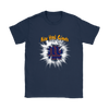 NFL – Awesome New York Giants Football Shirts-T-shirt-Gildan Womens T-Shirt-Navy-S-Itees Global