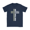 NFL – All I Need Today Is A Little Bit Of Green Bay Packers And A Whole Lot Of Jesus Football Shirt-T-shirt-Gildan Womens T-Shirt-Navy-S-Itees Global