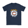 NFL – Awesome Chicago Bears Football Shirts-T-shirt-Gildan Womens T-Shirt-Navy-S-PopsSpot