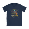 NFL – You Don't Like Miami Dolphins Here Your Socks I Set You Free Harry Potter Shirts-T-shirt-Gildan Womens T-Shirt-Navy-S-PopsSpot