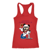 NFL – Arizona Cardinals Mickey Mouse Super Bowl Football Shirt-T-shirt-Next Level Racerback Tank-Red-XS-PopsSpot