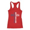 NFL – All I Need Today Is A Little Bit Of Indianapolis Colts And A Whole Lot Of Jesus Football Shirts-T-shirt-Next Level Racerback Tank-Red-XS-Itees Global