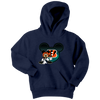NFL – Cincinnati Bengals Mickey Mouse Football Shirt-T-shirt-Youth Hoodie-Navy-XS-PopsSpot