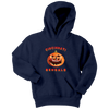 NFL - Cincinnati Bengals Pumpkin Football Shirt-T-shirt-Youth Hoodie-Navy-XS-Itees Global