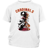 NFL – Arizona Cardinals Venom Groot Guardian Of The Galaxy Football Shirts-T-shirt-District Youth Shirt-White-XS-Itees Global