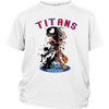 NFL – Tennessee Titans Venom Groot Guardian Of The Galaxy Football Shirts-T-shirt-District Youth Shirt-White-XS-PopsSpot