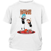 NFL - Cleveland Browns Rick And Morty Football NFL Shirts-T-shirt-District Youth Shirt-White-XS-PopsSpot