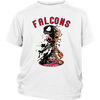 NFL – Atlanta Falcons Venom Groot Guardian Of The Galaxy Football Shirts-T-shirt-District Youth Shirt-White-XS-Itees Global