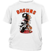 NFL – Cleveland Browns Venom Groot Guardian Of The Galaxy Football Shirts-T-shirt-District Youth Shirt-White-XS-Itees Global