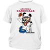 NFL – Arizona Cardinals Mickey Mouse Super Bowl Football Shirt-T-shirt-District Youth Shirt-White-XS-PopsSpot
