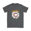 NFL – Awesome Chicago Bears Football Shirts-T-shirt-Gildan Womens T-Shirt-Charcoal-S-PopsSpot