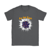 NFL – Awesome New York Giants Football Shirts-T-shirt-Gildan Womens T-Shirt-Charcoal-S-Itees Global