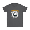 NFL – Awesome Philadelphia Eagles Football Shirts-T-shirt-Gildan Womens T-Shirt-Charcoal-S-Itees Global