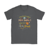 NFL – You Don't Like Miami Dolphins Here Your Socks I Set You Free Harry Potter Shirts-T-shirt-Gildan Womens T-Shirt-Charcoal-S-PopsSpot