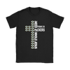 NFL – All I Need Today Is A Little Bit Of Green Bay Packers And A Whole Lot Of Jesus Football Shirt-T-shirt-Gildan Womens T-Shirt-Black-S-Itees Global