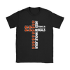 NFL – All I Need Today Is A Little Bit Of Cincinnati Bengals And A Whole Lot Of Jesus Football Shirts-T-shirt-Gildan Womens T-Shirt-Black-S-PopsSpot