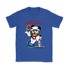 NFL – Arizona Cardinals Mickey Mouse Super Bowl Football Shirt-T-shirt-Gildan Womens T-Shirt-Royal Blue-S-PopsSpot