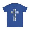 NFL – All I Need Today Is A Little Bit Of Green Bay Packers And A Whole Lot Of Jesus Football Shirt-T-shirt-Gildan Womens T-Shirt-Royal Blue-S-Itees Global