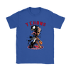 NFL – Houston Texans Venom Groot Guardian Of The Galaxy Football Shirts-T-shirt-Gildan Womens T-Shirt-Royal Blue-S-Itees Global