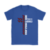 NFL – All I Need Today Is A Little Bit Of Arizona Cardinals And A Whole Lot Of Jesus Football Shirts-T-shirt-Gildan Womens T-Shirt-Royal Blue-S-Itees Global