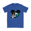 NFL – Denver Broncos Mickey Mouse Football Shirts-T-shirt-Gildan Womens T-Shirt-Royal Blue-S-Itees Global