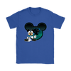 NFL – Carolina Panthers Mickey Mouse Football Shirts-T-shirt-Gildan Womens T-Shirt-Royal Blue-S-Itees Global