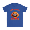 NFL – Halloween Pumpkin Los Angeles Rams Football NFL Shirts-T-shirt-Gildan Womens T-Shirt-Royal Blue-S-Itees Global