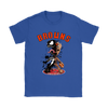 NFL – Cleveland Browns Venom Groot Guardian Of The Galaxy Football Shirts-T-shirt-Gildan Womens T-Shirt-Royal Blue-S-Itees Global