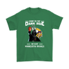 Come To The Dark Side We Have Minnesota Vikings Shirts-T-shirt-Gildan Mens T-Shirt-Irish Green-S-Itees Global