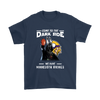 Come To The Dark Side We Have Minnesota Vikings Shirts-T-shirt-Gildan Mens T-Shirt-Navy-S-Itees Global