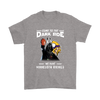Come To The Dark Side We Have Minnesota Vikings Shirts-T-shirt-Gildan Mens T-Shirt-Sport Grey-S-Itees Global