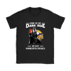 Come To The Dark Side We Have Minnesota Vikings Shirts-T-shirt-Gildan Womens T-Shirt-Black-S-Itees Global