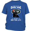 Come To The Dark Side We Have New York Jets Shirts-T-shirt-District Youth Shirt-Royal Blue-XS-Itees Global