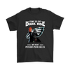 Come To The Dark Side We Have Philadelphia Eagles Shirts-T-shirt-Gildan Mens T-Shirt-Black-S-Itees Global