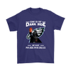 Come To The Dark Side We Have Philadelphia Eagles Shirts-T-shirt-Gildan Mens T-Shirt-Purple-S-Itees Global
