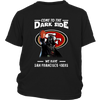 Come To The Dark Side We Have San Francisco 49ers Shirts-T-shirt-District Youth Shirt-Black-XS-PopsSpot