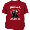 Come To The Dark Side We Have San Francisco 49ers Shirts-T-shirt-District Youth Shirt-Red-XS-PopsSpot